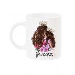 Чаша с арт принт Princesses