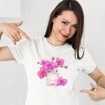 Дамска тениска Орхидеи