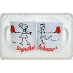 Комплект чаши за влюбени Together forever