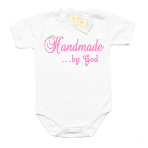 Забавно бебешко боди Handmade