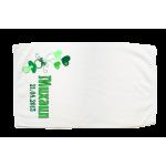 Кърпа за кръщене с името на детето и дата от страни