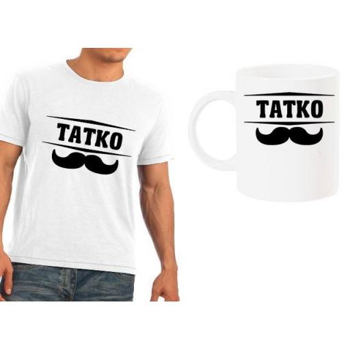 Мъжка тениска + чаша Татко