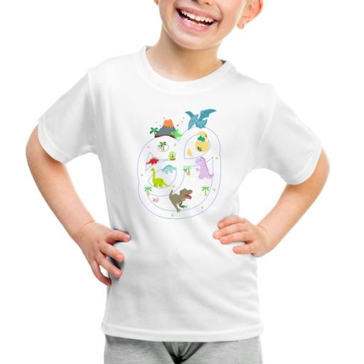 Детска тениска Динозаври