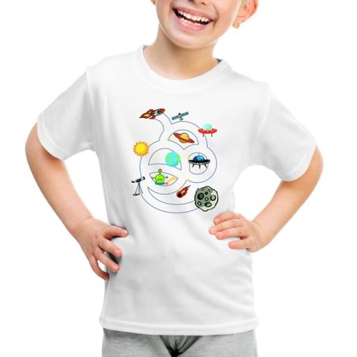 """Детска тениска """"Космически Приключения"""""""
